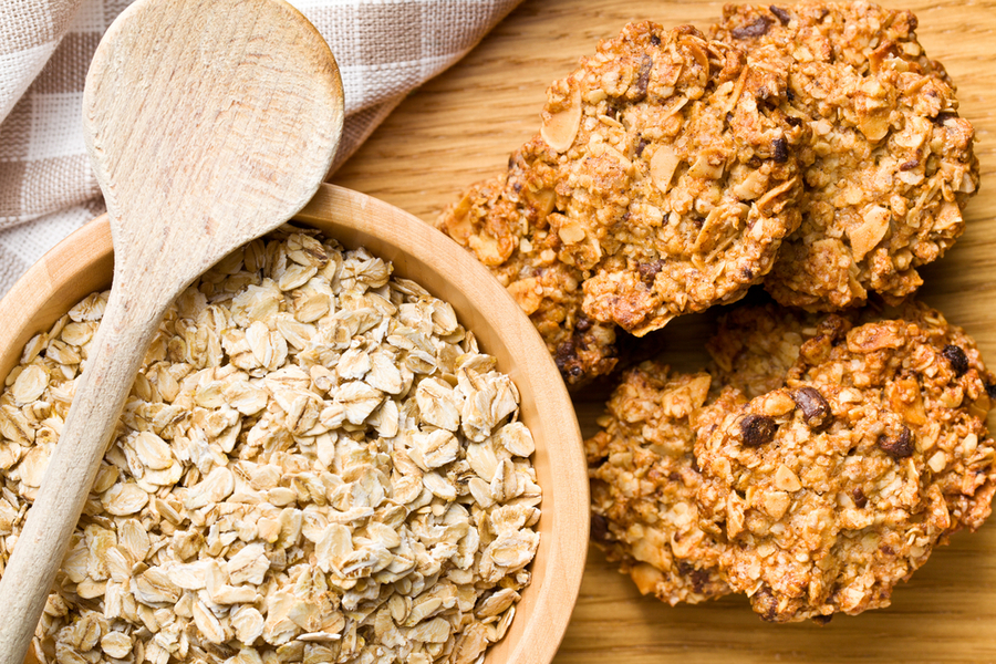 oats and whole grains