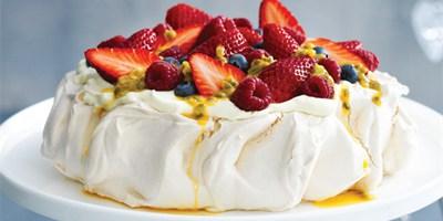 Pavlova passover cake 10 serv
