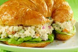 #6 Chicken Salad (shown on croissant)