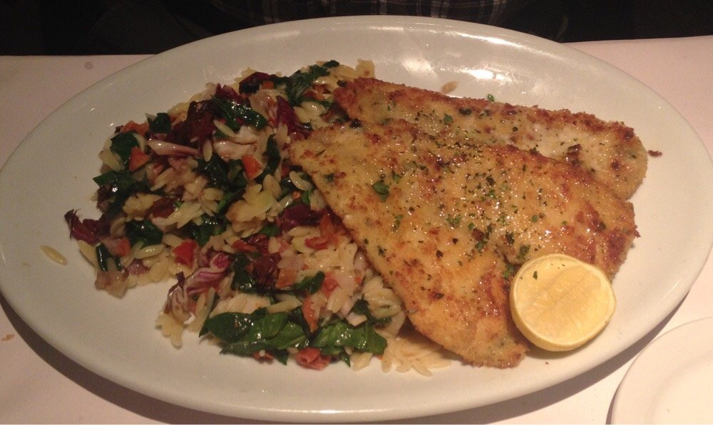 PARMESAN CRUSTED DOVER SOLE FILET