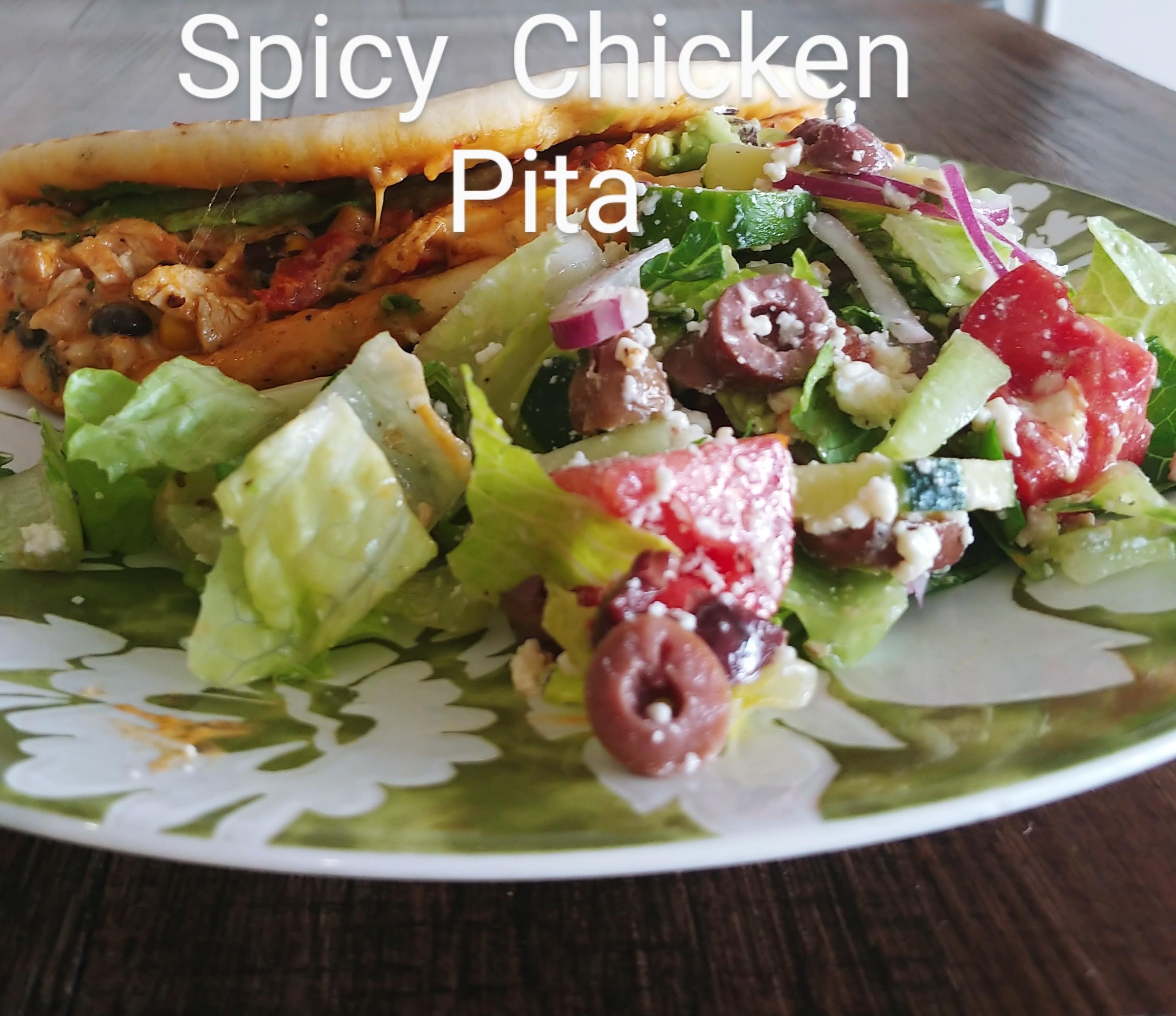 Spicy  Pita (Shrimp or Chicken)